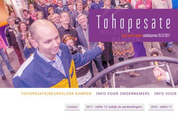 Nieuws: deelname aan maatschappelijke ruilbeurs Tohopesate!