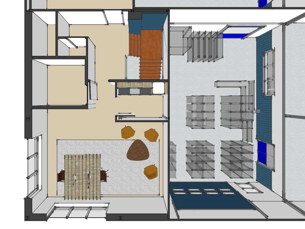 interieurontwerp bakkerij ijsselmuiden studio stoel