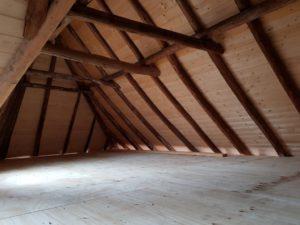 verbouwing woonboerderij deel 4: Houten huis